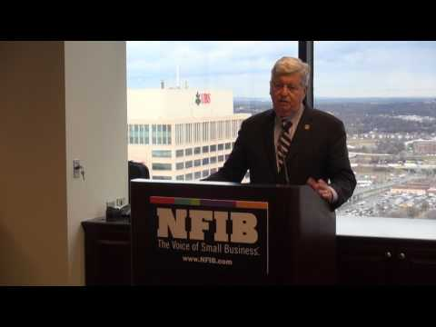 TN Lt. Gov. Randy McNally at NFIB Small Business Day at the Capitol