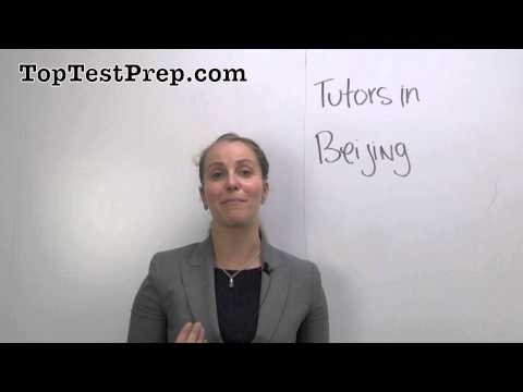 Find Beijing Tutors 北京 | Ivy League China Test Prep | TopTestPrep.com