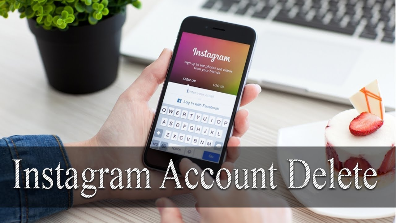 How to delete instagram account instagram account how to delete instagram account instagram account latest 2018 trick ccuart
