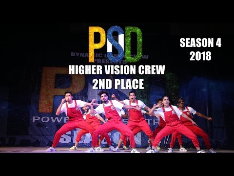 2nd Place || Higher Vision Crew || PODS 4 2018 ( India)