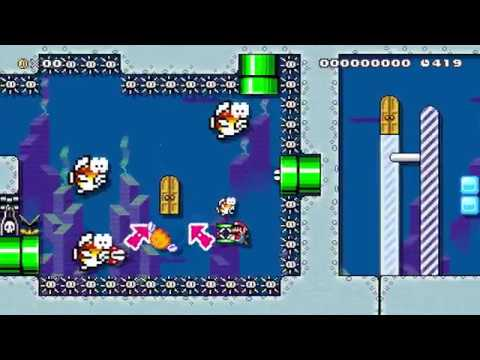 Super Mario Maker: A Cold Glass of Spring Water
