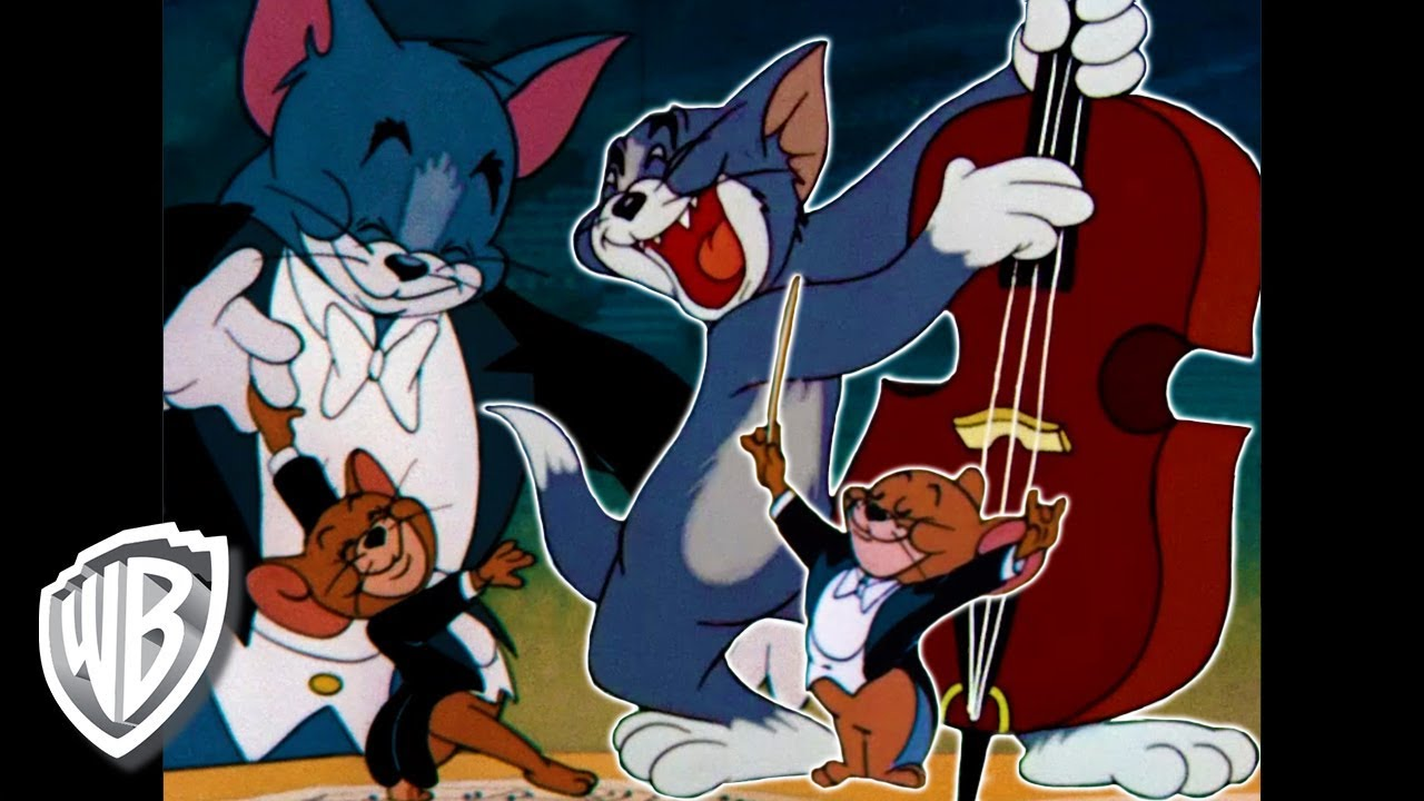 WATCH NOW! BEST CLASSIC TOM & JERRY MUSICAL MOMENTS | WB KIDS