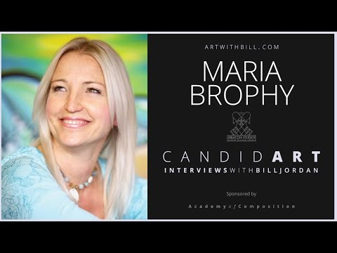 Candid interview with MARIA BROPHY a top art business consultant .#1  RT 1