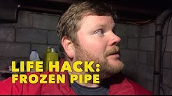 How to fix a frozen pipe