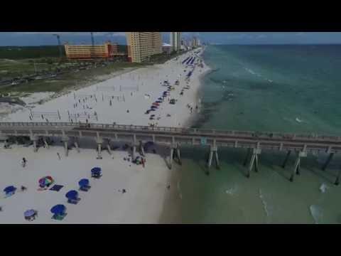 Panama City Beach Drone Aerial