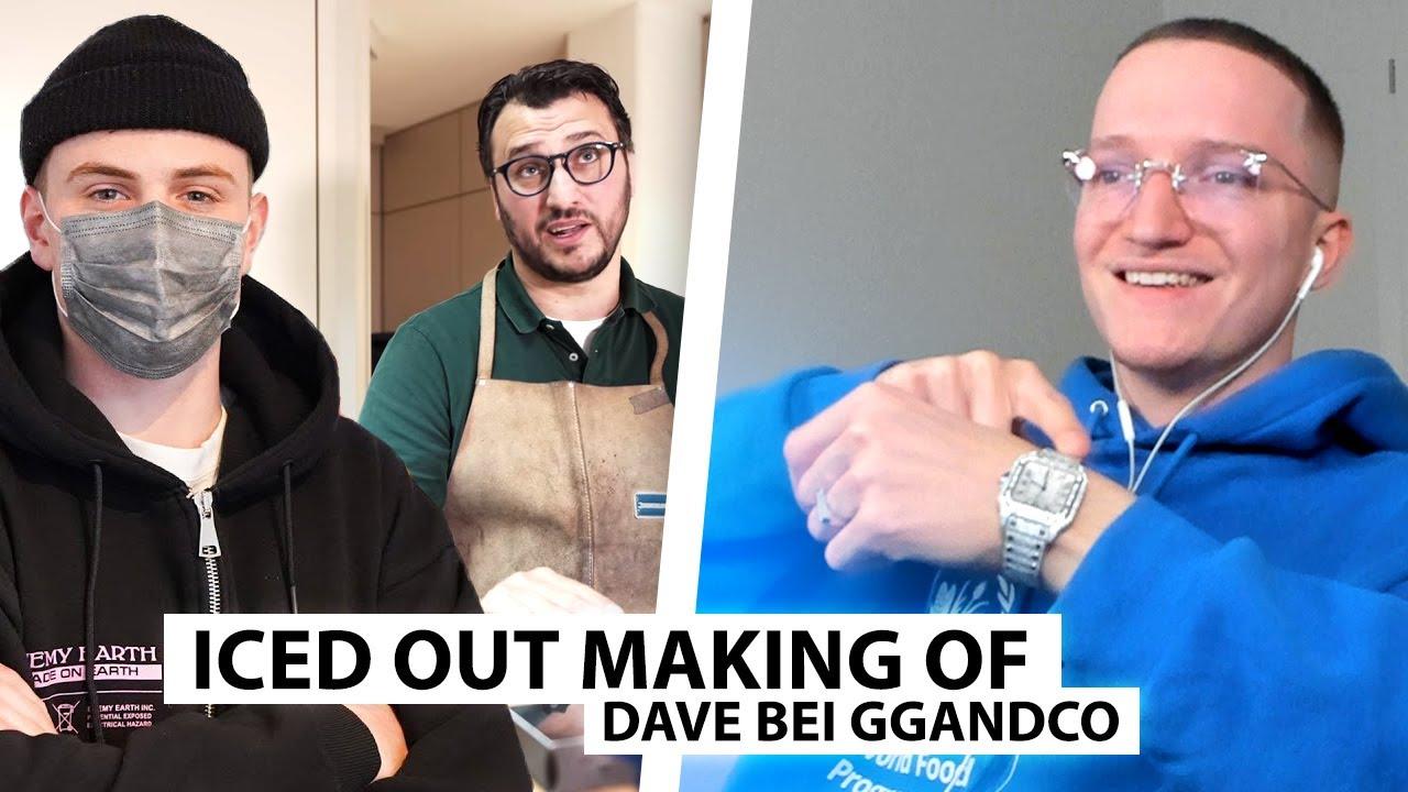 Justin reagiert auf Dave bei GGANDCO Juwelier (neue Iced Out Uhr) | Reaktion