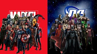 DC vs MARVEL|MCU vs DC cinematic universe  Malayalam explain by Chriss |Avengers vs Justice league