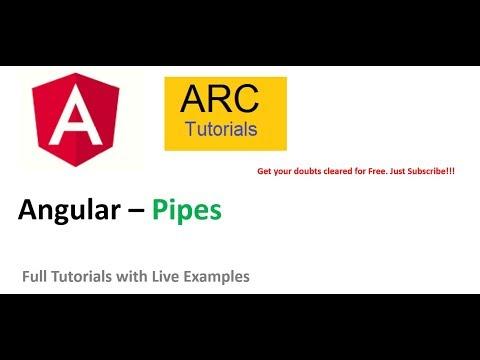 Angular Pipes Tutorial | Angular 8 Full Tutorials For Beginners thumbnail