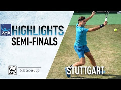 Highlights: Federer Guarantees Return To No. 1 With Kyrgios Win In Stuttgart 2018