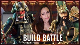CHALLENGE MET LOOTJES TREKKEN! - BUILD BATTLE (FORTNITE MINI-GAME #32)