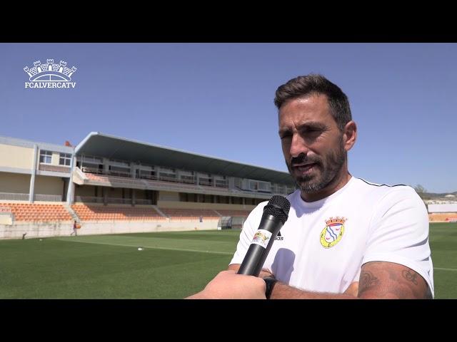 Amora vs FC Alverca - Pós jogo