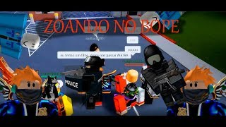 Mocking the roleplay and invading the BOPE-Roblox