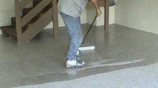 Garage Floor Epoxy Finish, video 3 of 3