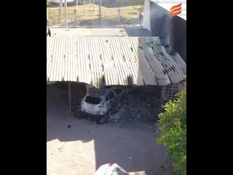 Imágenes del ataque de grupo armado en El Tamarindo