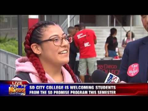 KUSI-SD: SD City College Welcoming SD Promise Students
