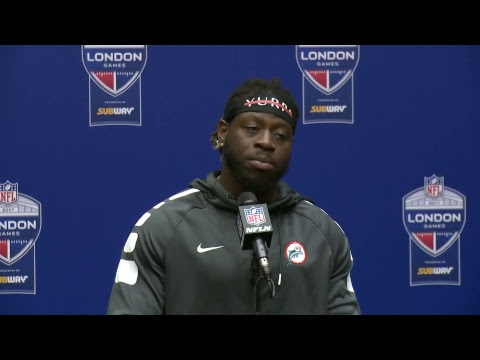 Dolphins Live: Jay Ajayi meets with the media.