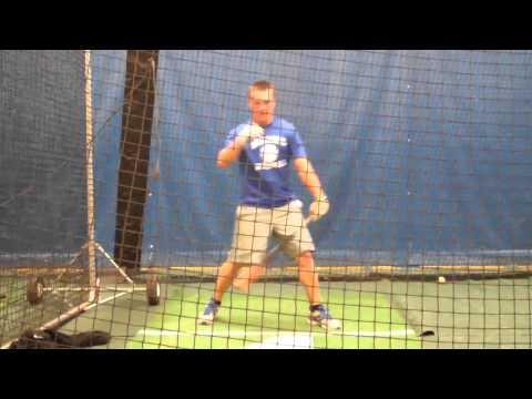 James Hood Hitting Practice