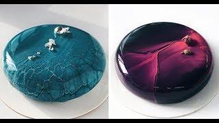 БЕЗУМНЫЕ ТОРТЫ С ЗЕРКАЛЬНОЙ ГЛАЗУРЬЮ|ПОПРОБУЙ НЕ ЗАЛИПНИ||mirror glaze