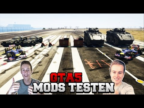 MODDED CARS TESTEN! W/Royalistiq (Gta 5 mods)