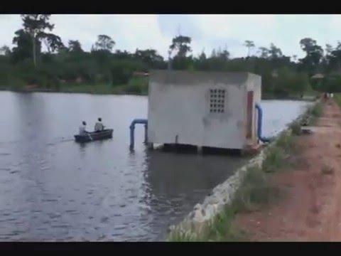 Aménagement Hydro-Agricole de M. HKA en période de crue