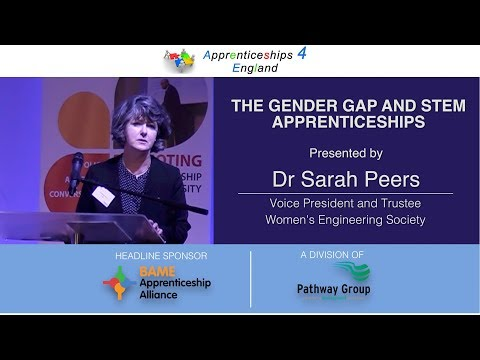 Dr Sarah Peers -  Apprenticeships 4 England Conference, Coventry July 2017