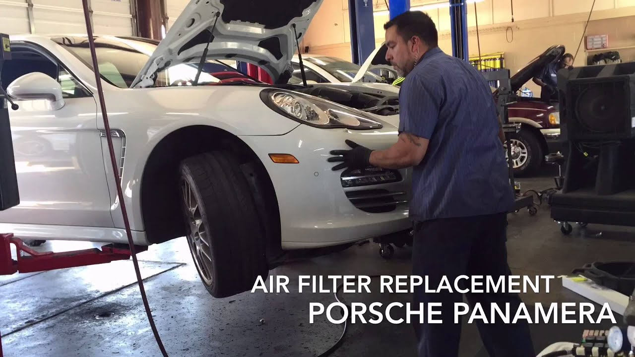 Porsche Panamera Cabin Air Filter Youtube
