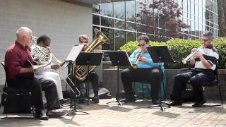 UNCW Brass Quintet at Cape Fear Community College - Song 2
