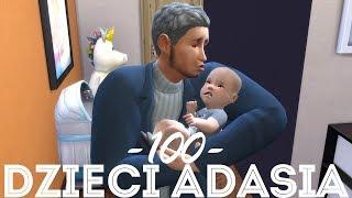 The Sims 4 Pl : Wyzwanie 100 dzieci Adama #142 - Mamy 100 dzieci!