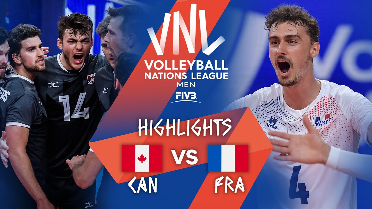 Download Canada vs. France - FIVB Volleyball Nations League - Men - Match Highlights, 11/06/2021