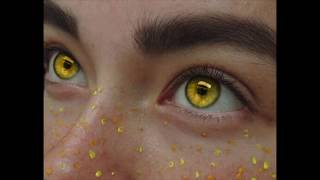 (Remake) Cat Shaped, Yellow Amber Eyes ✤Subliminal✤