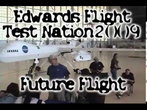 Global hawk XB-47 X-48 UCAV Edwards airshow