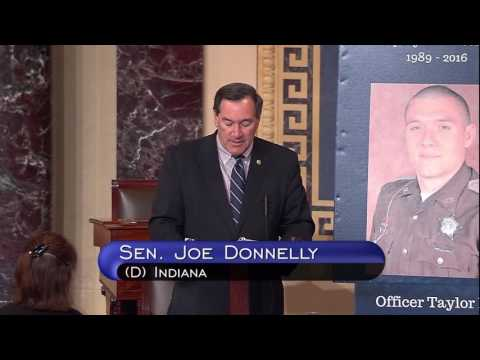 Senator Donnelly Law Enforcement Mental Health Floor Speech