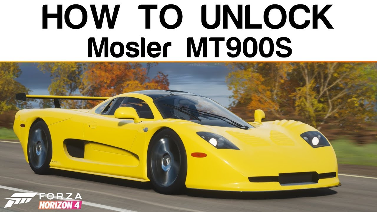 Forza Horizon 4 | How To Unlock The RARE Mosler MT900S + Best Car To Use