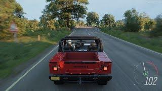 Forza Horizon 4 - 2006 Hummer H1 Alpha Open Top Gameplay [4K]