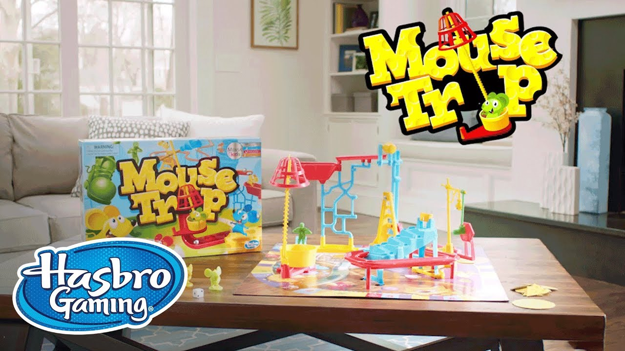 Mouse Trap Official Tv Teaser Hasbro Gaming Youtube
