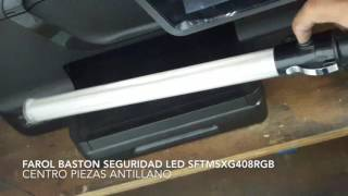 Farol Bastón Seguridad & Emergencia LED SFTMSXG408RGB