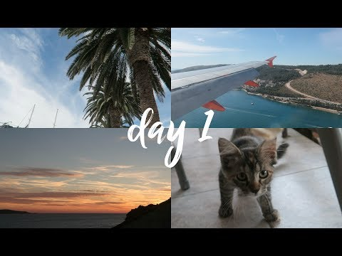 TRAVELLING TO THE MOST BEAUTIFUL ISLAND | Croatia Day 1