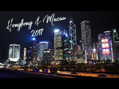 Hong Kong & Macau Tour 2017