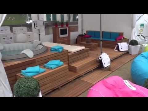 Spa gonflable jacuzzi gonflable youtube - Abri de spa gonflable ...
