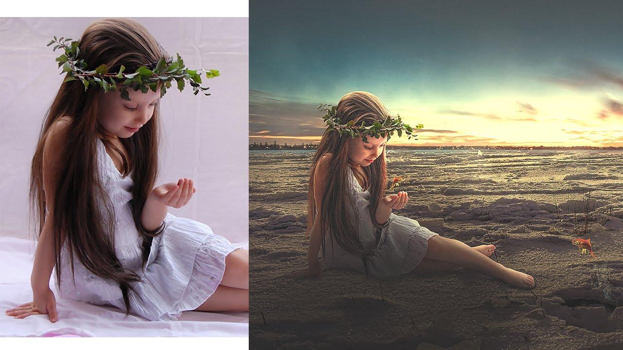 Photoshop Manipulation Tutorial | Photo Effect, Mixing ...