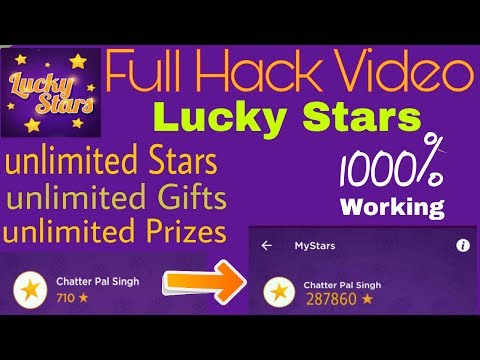 How to hack Lucky Stars //Win Free Gifts //2017-18// Hindi urdu