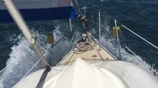 S/V Southern Cross Ep. 27 - 20 knots of wind