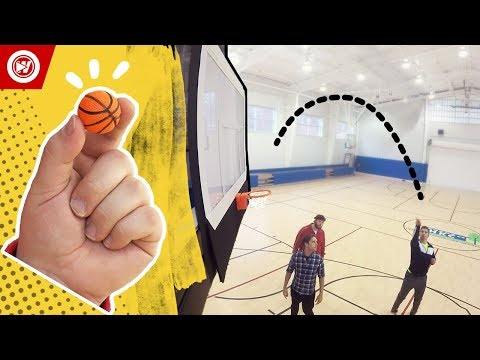 World Record | Smallest Free Throw EVER Made!