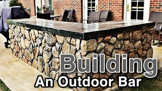 Building An Outdoor Bar
