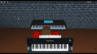 In the House, in the Heartbeat - 28 Weeks Later by: John Murphy on a ROBLOX piano.