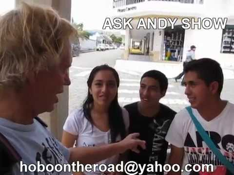 Loja English Students Interview Andy in Vilcabamba