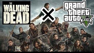 GTA5とウォーキングデッドがコラボ!リックやゾンビがロスサントスに現る!(ネタバレ注意) thumbnail