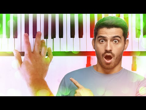 Super easy piano song for beginners but sounds f***ing great!!!  *TUTORIAL*