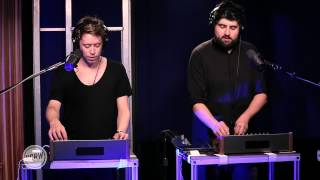"""Digitalism performing """"Wolves"""" Live on KCRW"""