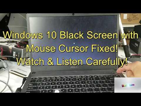 windows-10-fixed!-black-screen-w/-mouse-cursor:-2-easy-options!!